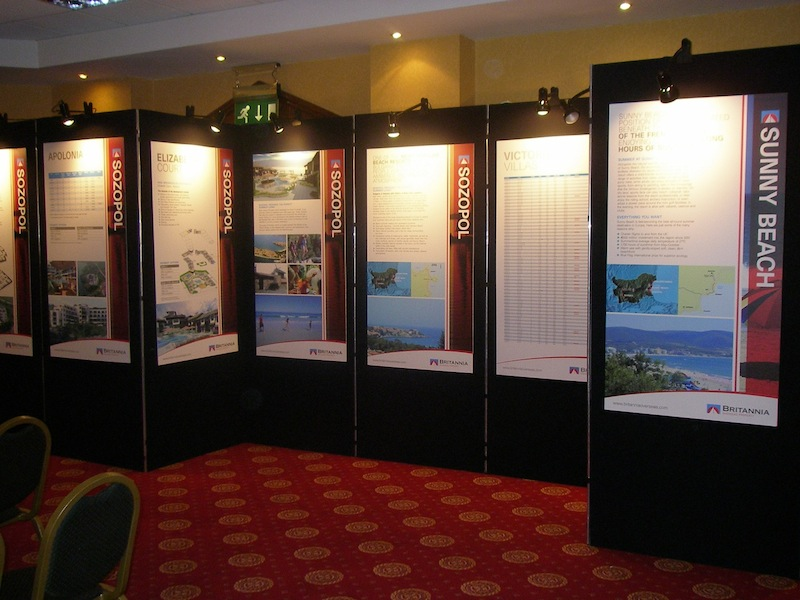 Exhibition Stand Poster Design : Exhibition banner stands displays screenfocus
