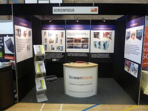 Exhibition Shell Scheme For Sale : About screen focus exhibition stand contractors