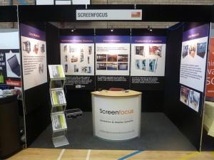 Exhibition display stands Swansea